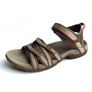 Teva tan brown Tirra sport sandals